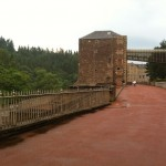 One of the mills at New Lanark